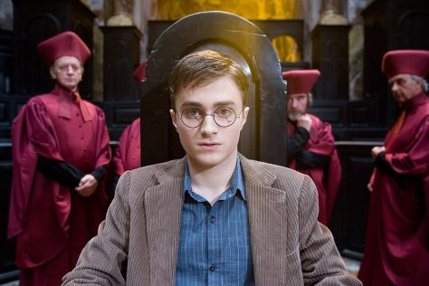 Image: Daniel Radcliffe as Harry