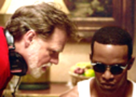 Scene from new film Ray starring Jamie Foxx