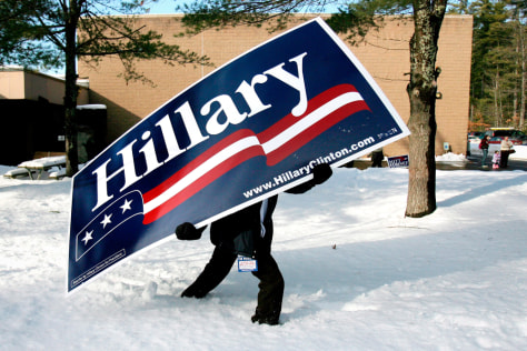 Image: Clinton sign