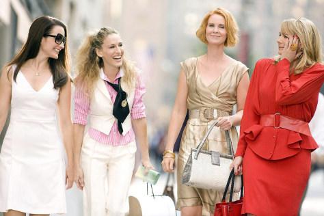 Image: Kristin Davis, Sarah Jessica Parker, Cynthia Nixon, Kim Cattrall