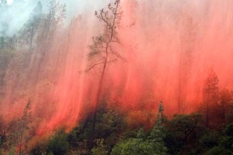 Image: Fire near Yosemite