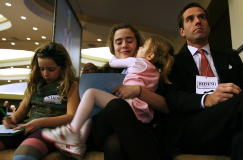 Image: Beau Biden and family