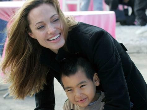 Image: Angelina Jolie, Maddox