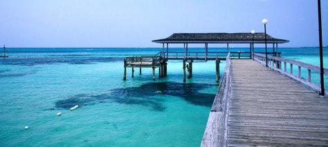 Image: Nassau, Bahamas pier