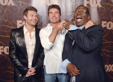 IMAGE: Seacrest, Cowell and Jackson
