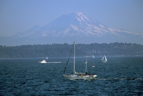 Image: Mount Rainier and Puget Sound