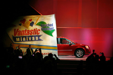 Image: Chrysler's new 2008 Dodge Grand Caravan
