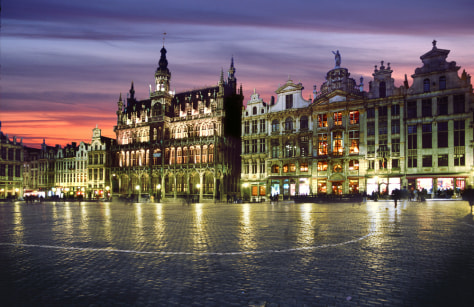 Image: Brussels' Grand Place