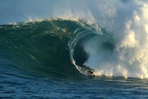 Image: Big Wave Surfing, Maui