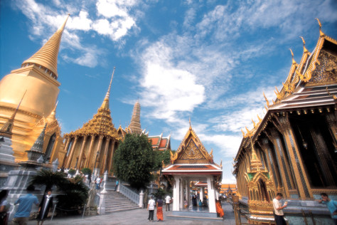 Tourists Visiting Wat Phra Kaeo