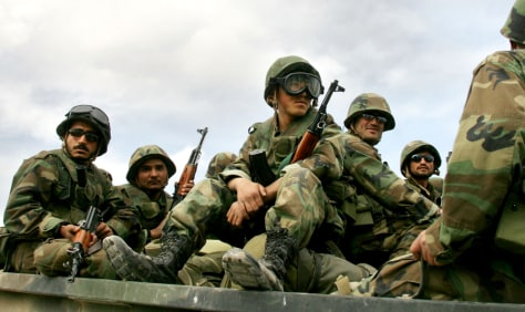 AFGHAN SOLDIERS PREPARE TO FLY TO FARYAB