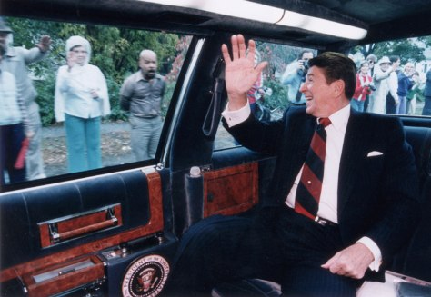 (FILE PHOTO) Ronald Reagan's Health Deteriorates