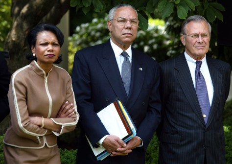 RICE POWELL RUMSFELD