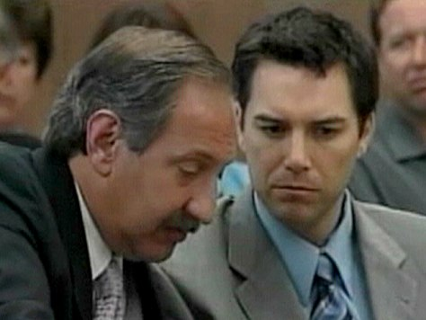 FILE PHOTO: GERAGOS, PETERSON.