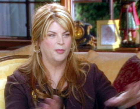 Actress Kirstie Alley