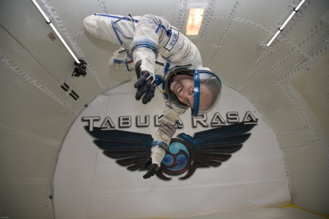 Image: Space Adventures' Zero-G flight