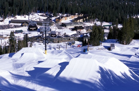 Image: Mountain Ski Resort, Calif.