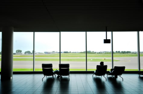 Image: Waiting at the airport