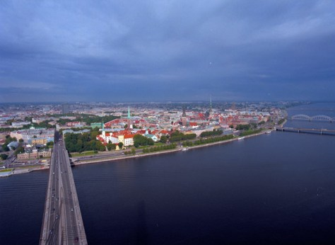 Image: Riga's city-center