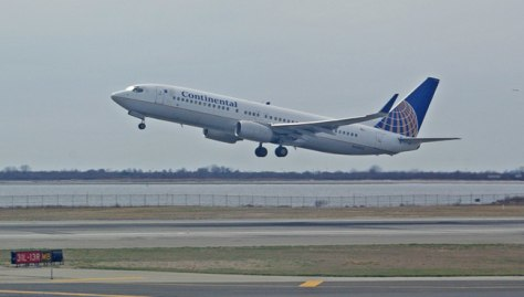Image: Continental Airlines Boeing 737-800