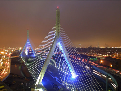 Image: Zakim Bunker Hill Memorial Bridge