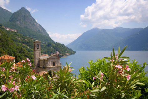 Image: Hiking the Hills of Lugano
