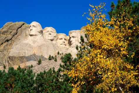 Image: Mt Rushmore, Black Hills, South Dakota