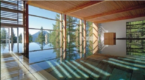 Image: Vigilius Mountain Resort and Spa, South Tyrol, Italy