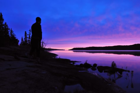 Image: Sunrise at Isle Royale National Park, Mich.