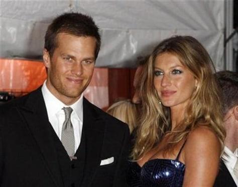 Imkage: Tom Brady, Gisele Bundchen