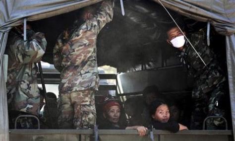 Image: Hmong refugees