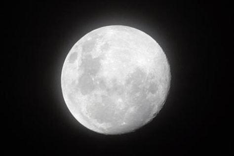 Image: A full moon