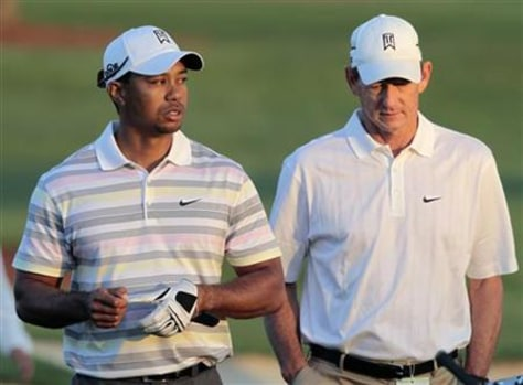 Image: Tiger Woods,  Hank Haney