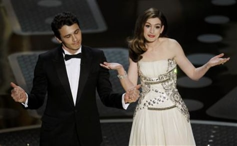 Image: James Franco, Anne Hathaway