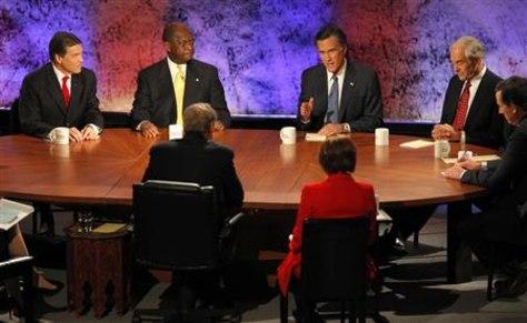 Image: Republican candidates