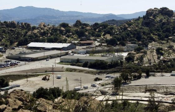 Image: Santa Susana Field Laboratory in 2009