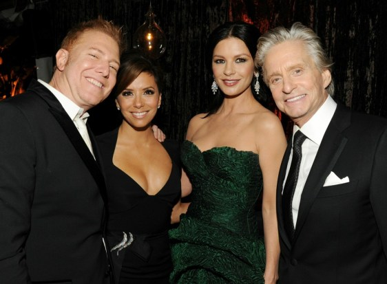 Image: Ryan Kavanaugh, Eva Longoria, Catherine Zeta-Jones, Michael Douglas