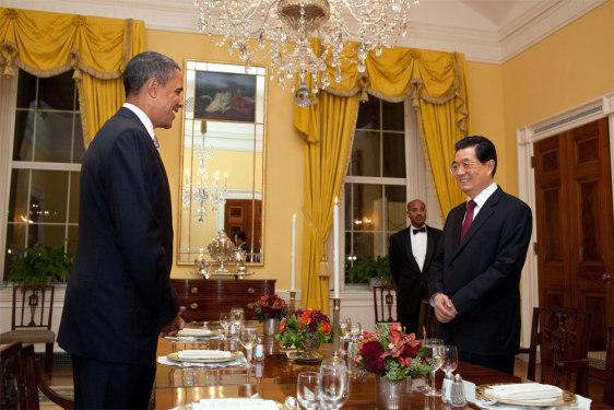 Image: President Barack Obama and President Hu Jintao