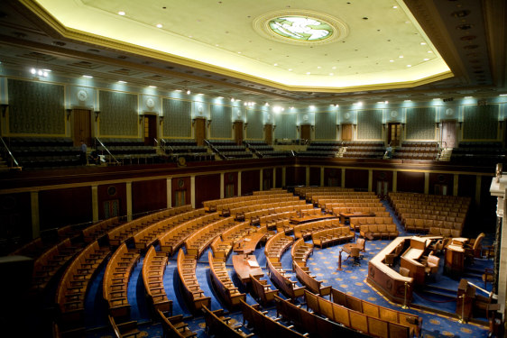 Image: U.S. House of Representatives chamber