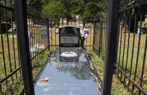 Image: Gravesite of James Byrd, Jr.