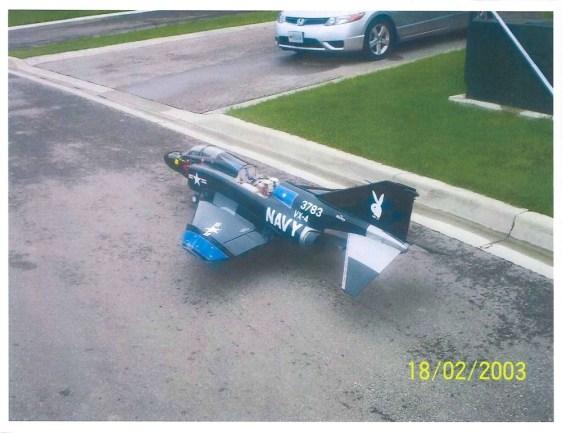 Image: Remote plane terror attack plan