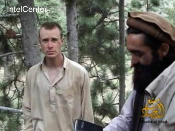 Image: Bowe Bergdahl (left), who has been held hostage by the Taliban since his disappearance from his unit on June 30, 2009