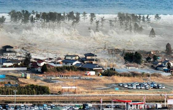 Image: Tsunami inundation