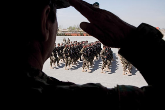 Image: Afghan army troops