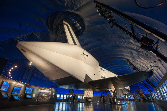 Image: NASA's space shuttle Enterprise