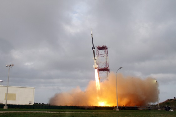 NASA Inflatable Reentry Vehicle Experiment (IRVE-3) launched