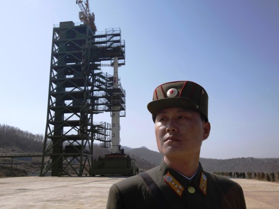 Image: North Korean launch site