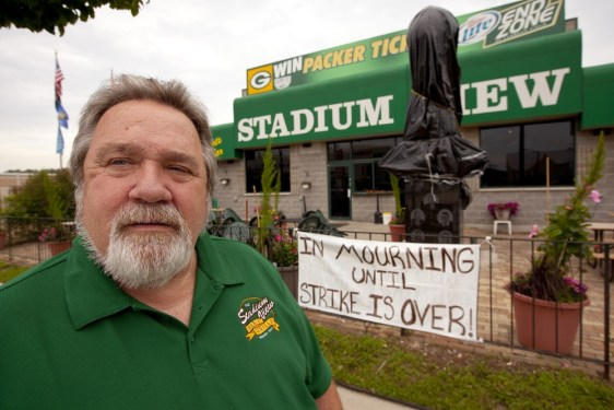 Image: Jerry Watson, owner of Stadium View Bar in Green Bay
