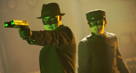 "Image: Scene from ""The Green Hornet"""