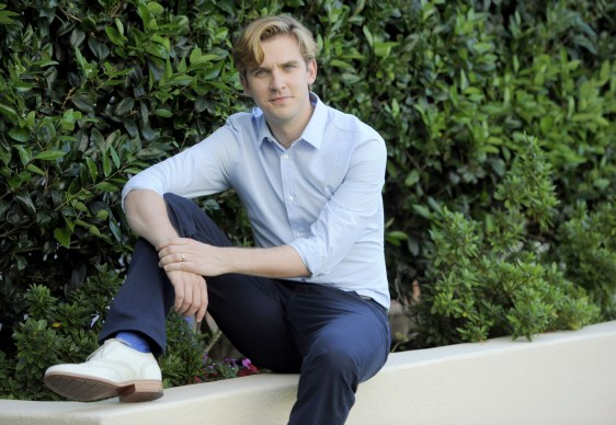 "Image: Actor Dan Stevens from the TV series ""Downton Abbey"""